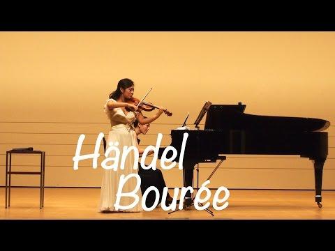 Kyoko Watanabe - Händel / Bourée / Suzuki Methode