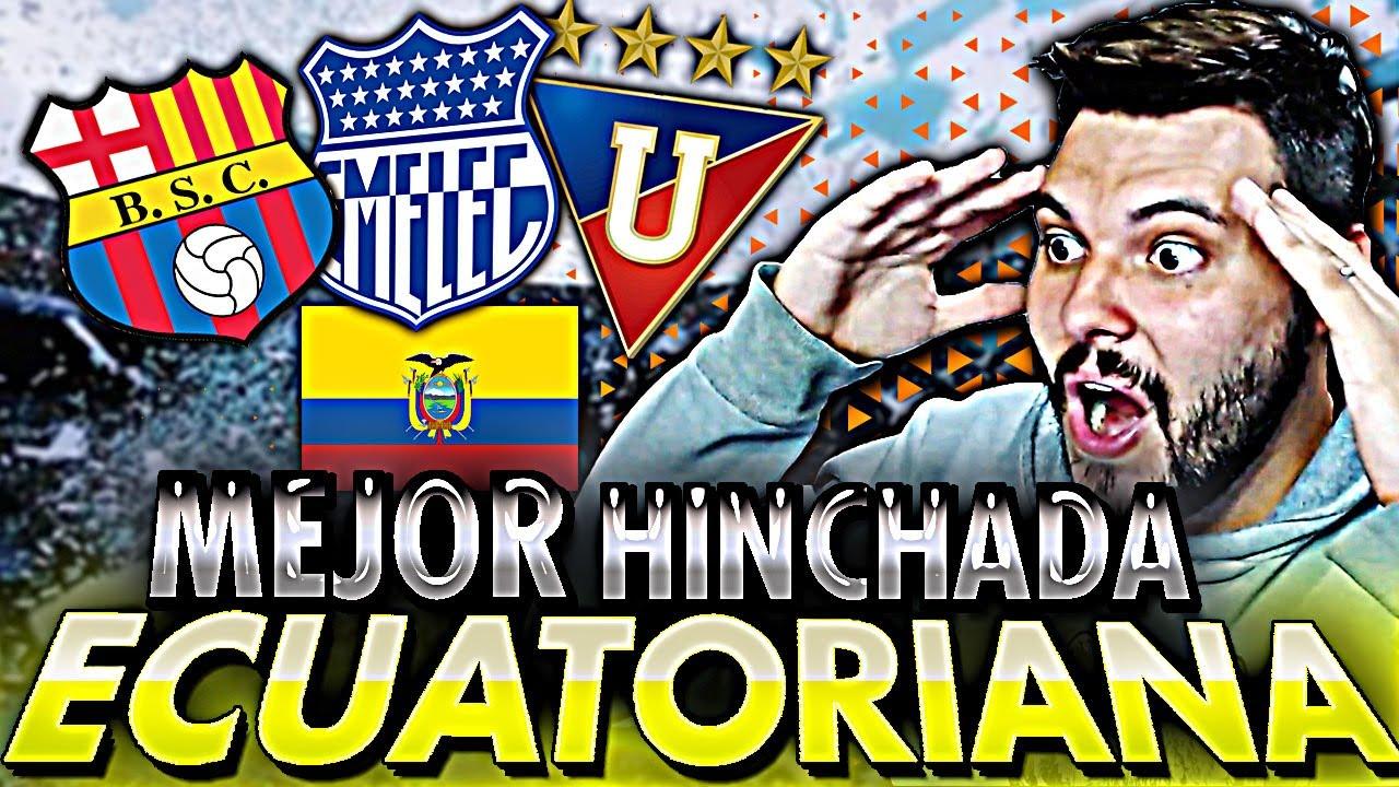 💥ARGENTINO reacciona a la MEJOR HINCHADA del FUTBOL ECUATORIANO ⚽|Cúal es TU FAVORITA? | Falso Nueve