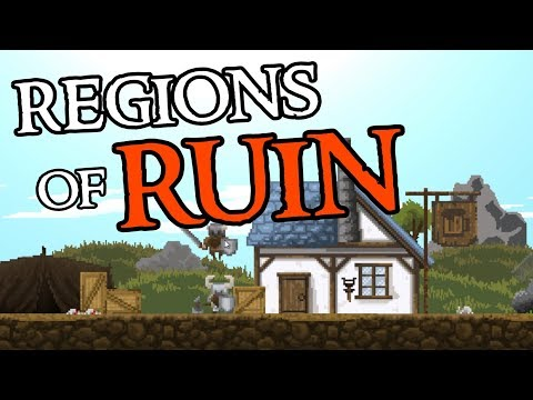 HIRING MERCENARIES at the TAVERN - Regions of Ruin Gameplay - Ep. 2