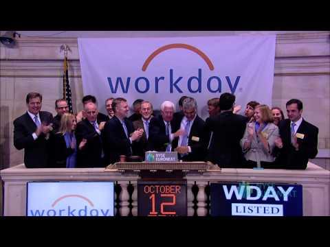 Workday, Inc. Lists IPO on the New York Stock Exchange