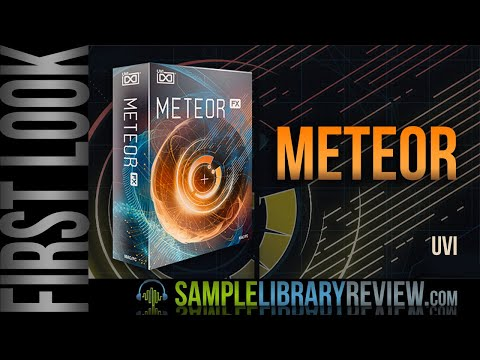 First Look: Meteor by UVI • Risers and Impacts Designer