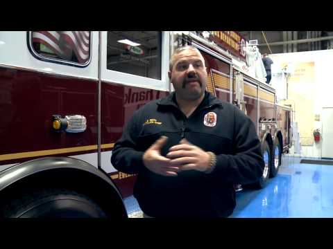 Prince George's County Fire Department - Arrow XT 105' Heavy Duty Ladder