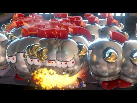 Mario vs 100 Prince Bullies (funny Boss Fight Super Mario 3D World + Bowser's Fury challenge mod)
