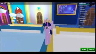 my little pony 3D:roleplay {}roblox