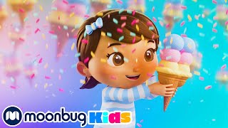 Ice Cream Song | Kids Learning Videos | Nursery Rhymes | ABCs And 123s