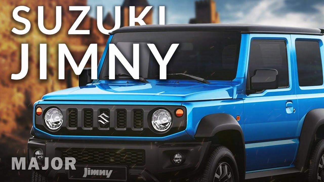 Suzuki Jimny 2021 - туда, куда захотите! ПОДРОБНО О ГЛАВНОМ