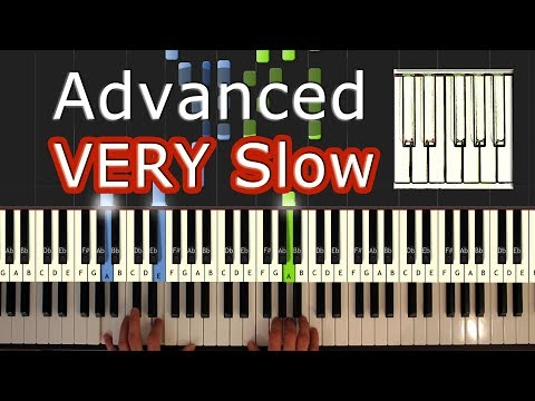 Mozart  Turkish March Rondo Alla Turca  VERY SLOW Piano Tutorial Easy  How To Play Synthesia