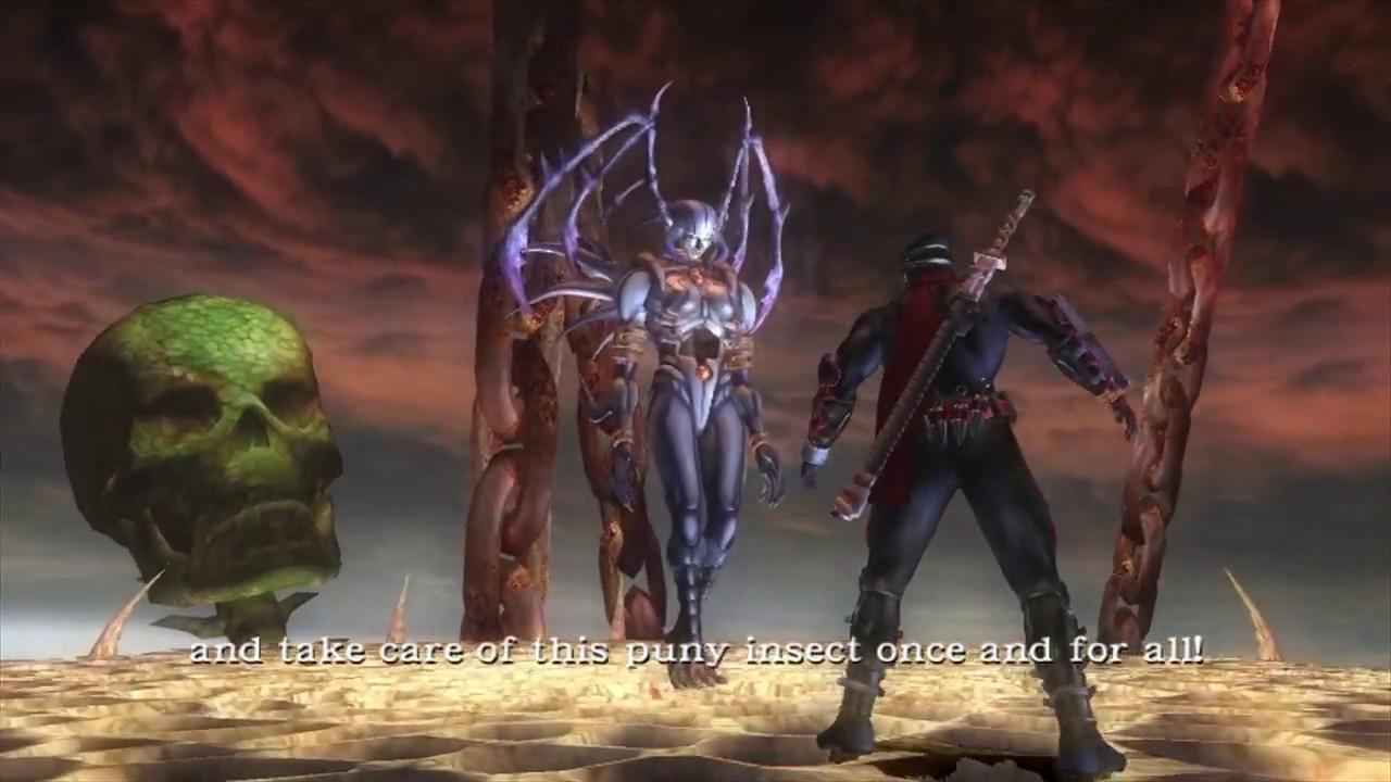 Ninja Gaiden Black Nicchae Ishtaros And Marbus Boss Fights