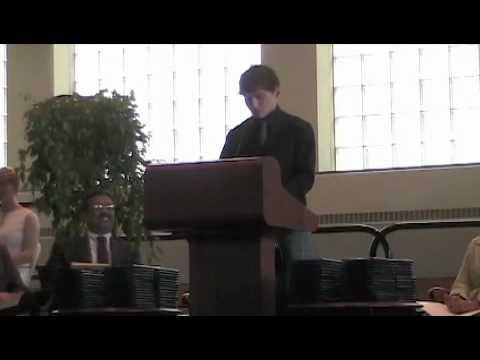 BB&N Graduation Speech 2010 part 1