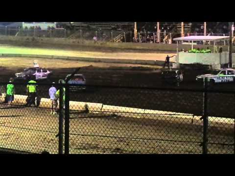 Belle-Clair Speedway Demolition Derby