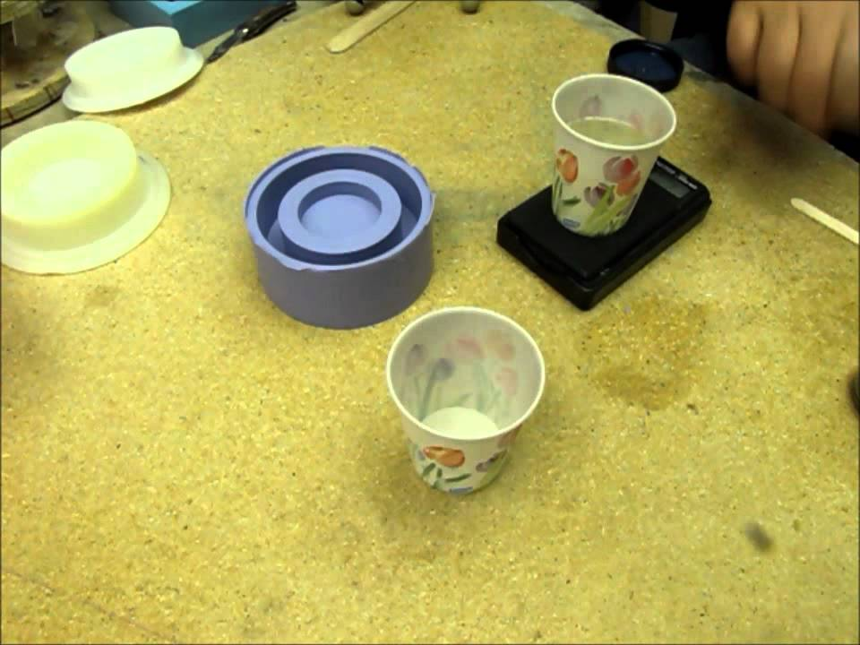 Mold Making With Oomoo 30 Silicone Rubber Youtube