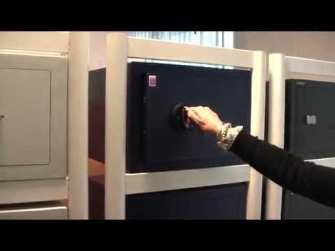 Sistec MT SKG | Petit coffre-fort pas cher à clé ou code