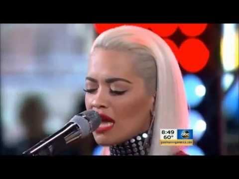Body On Me - Live GMA Concert / Rita Ora ft Chris Brown