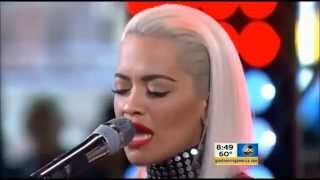 Body On Me - Live GMA Concert / Rita Ora ft Chris Brown