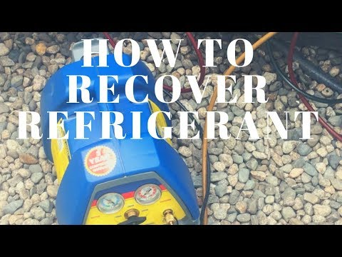 Hvac TIPS- HOW TO RECOVER REFRIGERANT QUICK OVERVIEW