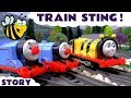 Thomas and Friends Funny Game Play Doh Trackmaster Busy Bee James Unboxing Episode Kids Toy Story
