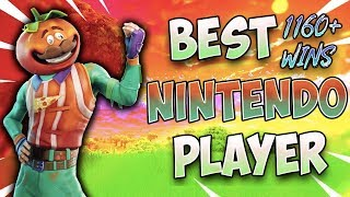 Fortnite Best Nintendo Switch Player 1160+ Win (Solos/ Member and Viewer Scrims)
