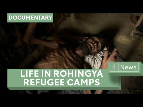 Rohingya refugee crisis: Life in Bangladesh's largest refugee camp