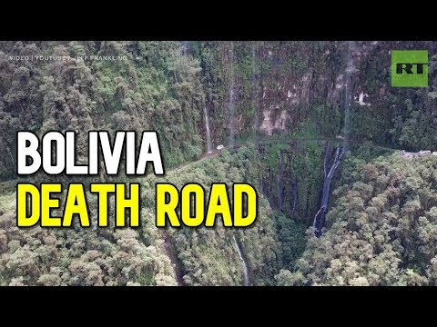 Take a ride on Bolivia's Death Road: Over 60km long with over 3000m of descent!