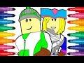 Roblox coloring picture cartoon Роблокс раскраска рисунок мультфильм