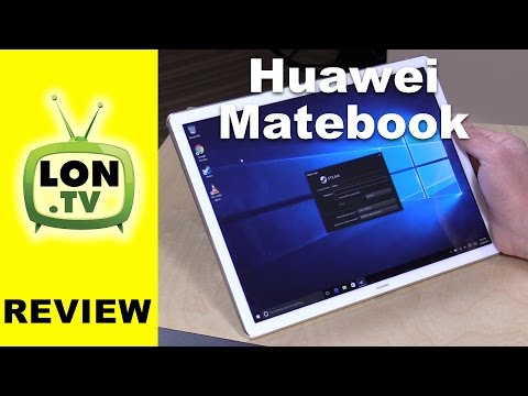 Huawei MateBook Windows 10 Tablet PC Review With Keyboard Portfolio & Stylus