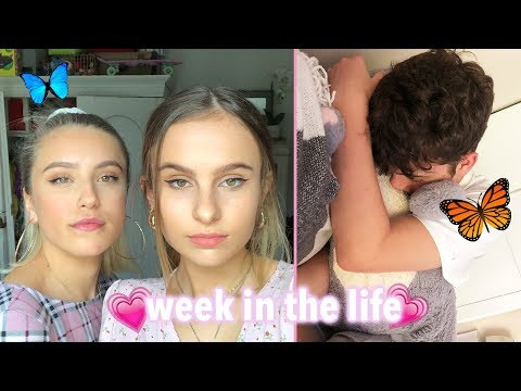 Living Alone: nights out with Livvy & filming for CBBC with Lewys! Weekly vlog/ Lovevie