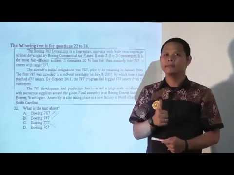 SMP - Pembahasan Soal UN SMP - Bahasa Inggris