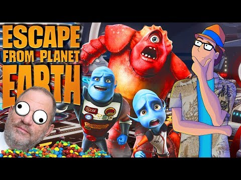 The History Of Escape From Planet Earth: Weinstein's Animated Disaster