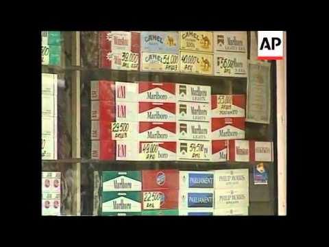 RUSSIA: CIGARETTE MANUFACTURES GIVEN FREE HAND ON ADVERTISING