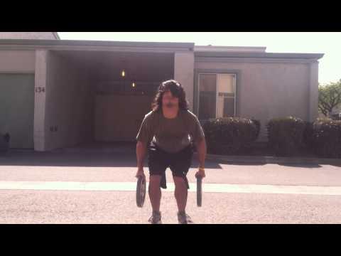 831 Deaf Fitness Video: Squat Jump Challenge