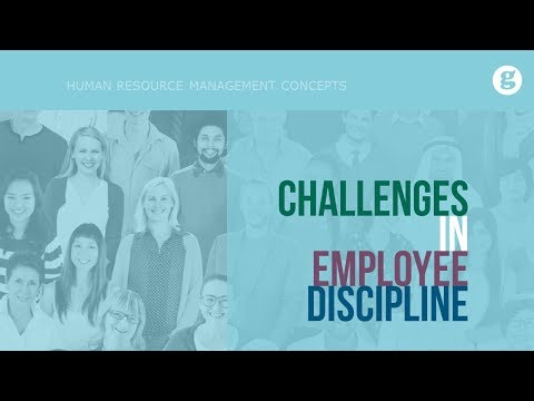 Challenges in Employee Discipline