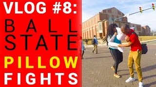 Social Experiment: Pillow Fight with Random People