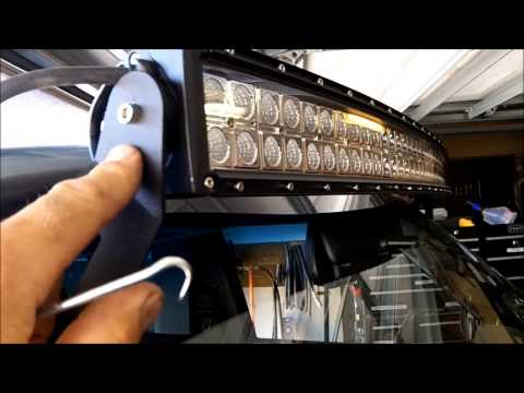 How to Install RC LED mounting Brackets on a 84-01 Jeep Cherokee XJ