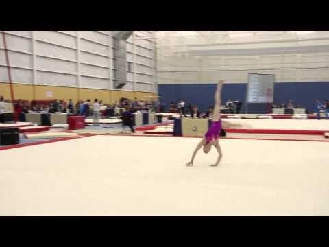 Sydney Townshend - Floor - Senior AA - 2015 Elite Canada