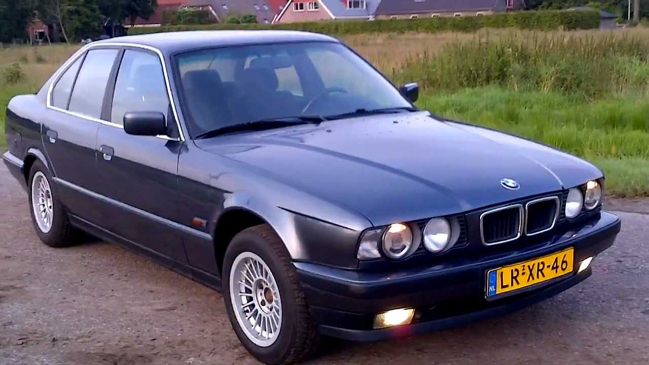 BMW 5 series E34  YouTube