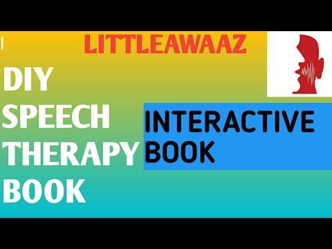 DIY interactive book#Speech therapy tamil#littleawaaz