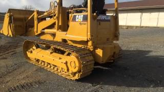 Caterpillar 939C Hystat Track Loader Operating Demonstration Video!