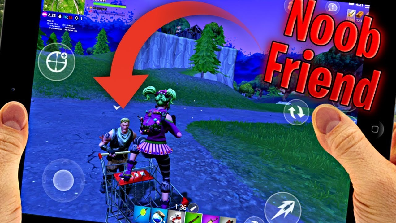 how to add a friend on fortnite mobile