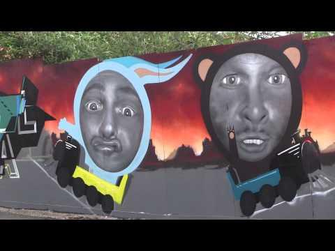 Sheffield's latest street art