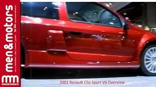 2001 Renault Clio Sport V6 Overview