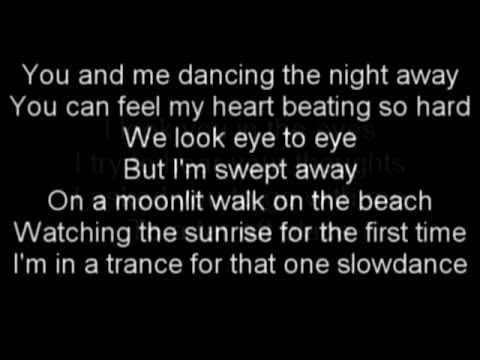 One Slowdance (acoustic) - Rufio Lyrics