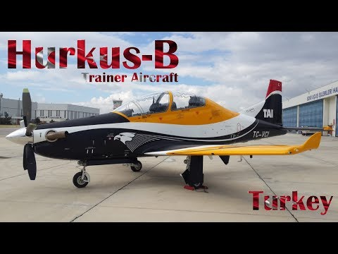 Turkey's Hurkus-B Trainer Aircraft Completes First Test Flight