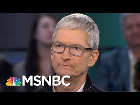 Apple CEO Tim Cook Calls Out Amazon's Search For A New HQ: It's A 'Beauty Contest' | MSNBC