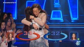 Fenómeno Fan (T2) | Por solo 1 punto,  María consigue el duelo, gracias a Katy Perry