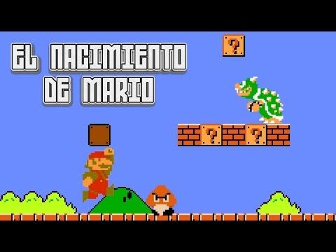 Super Mario Bros 1: El Nacimiento de Mario - Pepe el Mago: Revive conmigo a Super Mario Bros. 1 para el Nintendo! ¿Preparado para conocer el Nacimiento de Mario?  Super Mario Bros. 1 marcó un antes y un después en el mundo de los video juegos, luego de su salida nada sería igual. En este vídeo conocerás los orígenes de Mario Bros, y le daremos un vistazo al primer juego de la saga.  ¿Preparado para sumergirte en el Reino Champiñón?  Visitame en Facebook: https://www.facebook.com/PepeElMagoo  ¡No te olvides de suscribirte al canal para no perderte ningún video! http://goo.gl/0u862w  Agradecimiento especial a estos talentosos artistas / Special thanks to this amazing artists:  8 bit Brick wall por elbarnzo (deviant art): http://elbarnzo.deviantart.com/art/Minecraft-Stone-Brick-Simple-Texture-Wallpaper-487978429  ¡No soy dueño de NADA que tenga derechos de autor en este vídeo! ¡Por favor apoyemos a los autores originales!  Contacto: contactopepeelmago@gmail.com