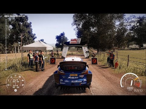 WRC 8 FIA World Rally Championship Gameplay (PC HD) [1080p60FPS]