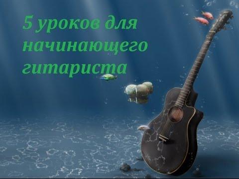 Виды аккомпанемента на гитаре.