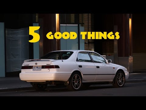 5 Reasons Why the Toyota Camry is AWESOME! (1997-01, xv20)
