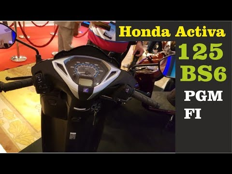 BS6 Honda Activa 125 PGM FI India First BS6 Scooter