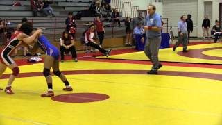 2015 Junior Nordhagen Classic: 55 kg Emily Schaefer vs. Maya Nelson